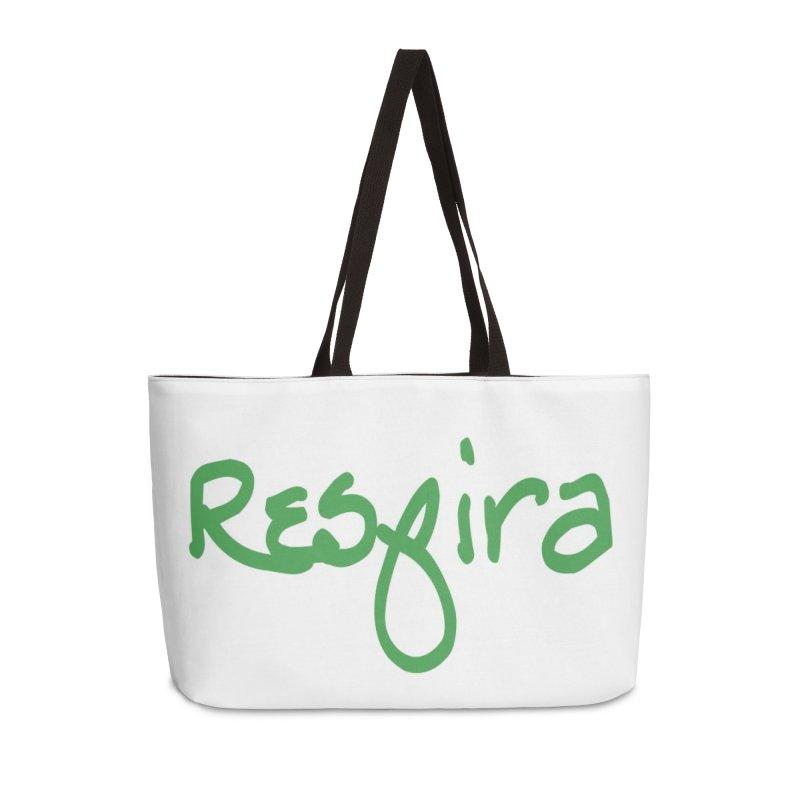 Respira Accessories Weekender Bag Bag by Psiconaturalpr's Artist Shop