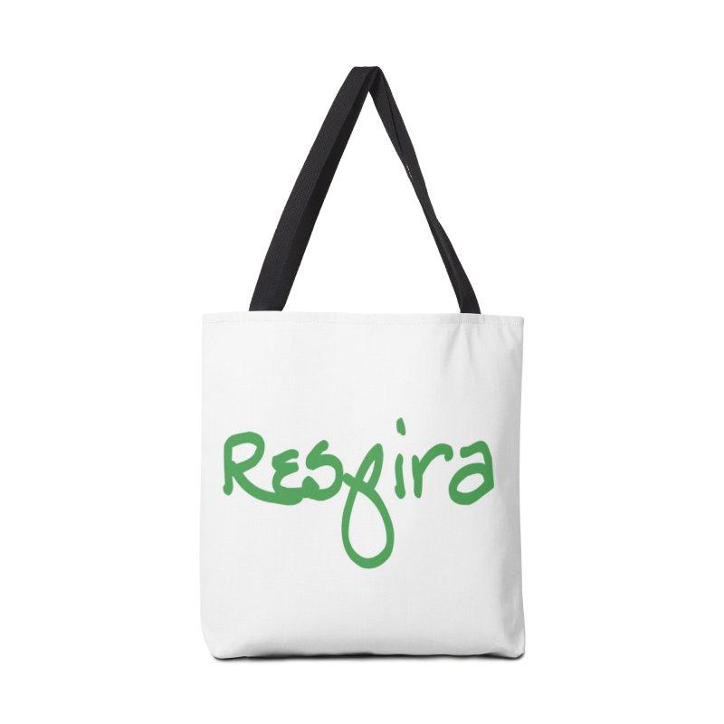 Respira Accessories Tote Bag Bag by Psiconaturalpr's Artist Shop
