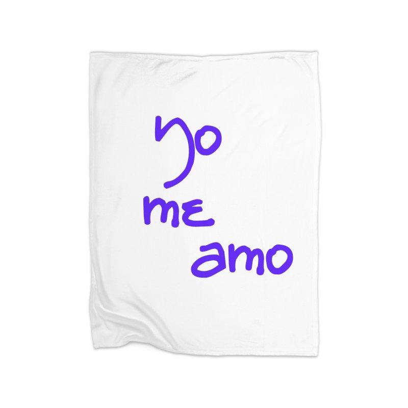 Yo me amo Home Fleece Blanket Blanket by Psiconaturalpr's Artist Shop