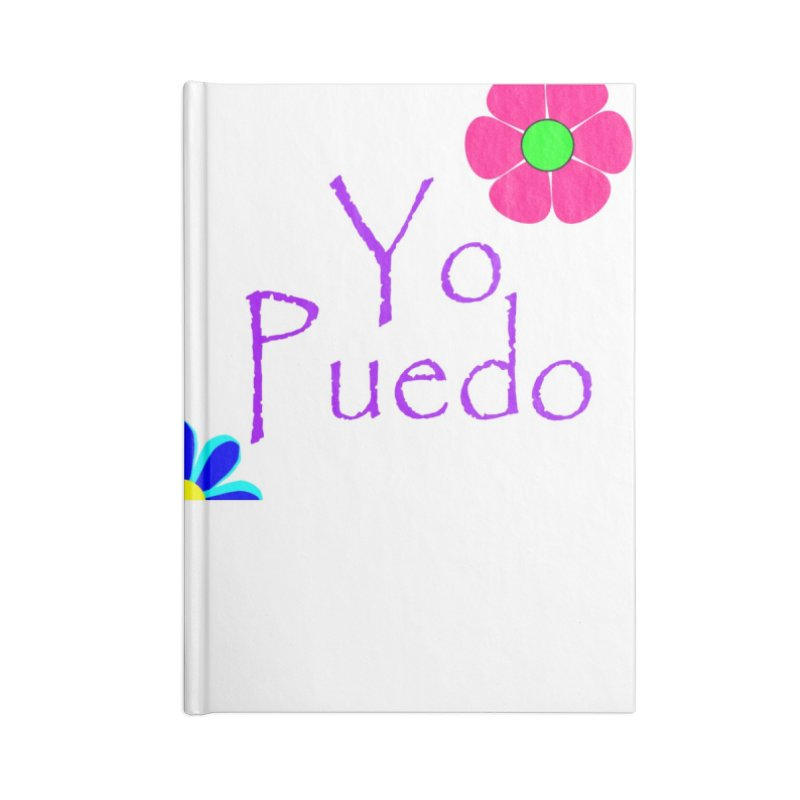 Yp puedo Accessories Lined Journal Notebook by Psiconaturalpr's Artist Shop