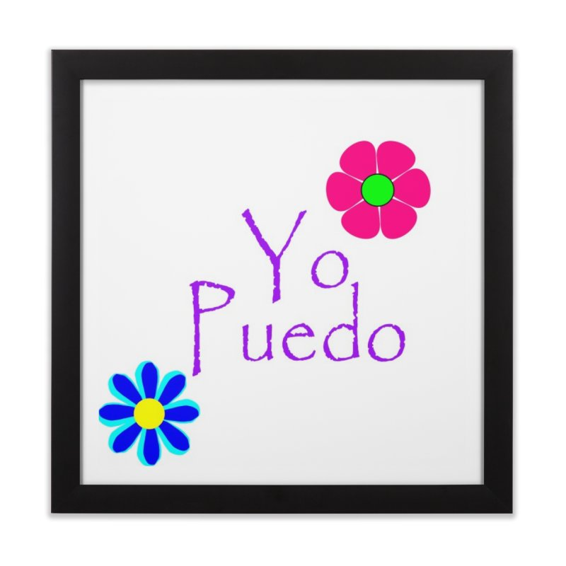 Yp puedo Home Framed Fine Art Print by Psiconaturalpr's Artist Shop