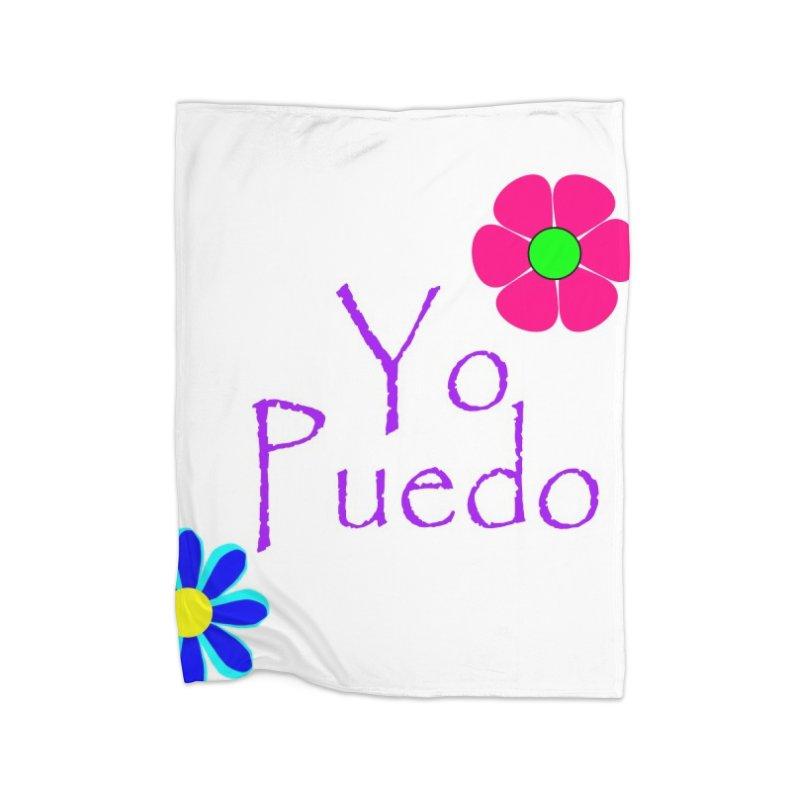 Yp puedo Home Fleece Blanket Blanket by Psiconaturalpr's Artist Shop