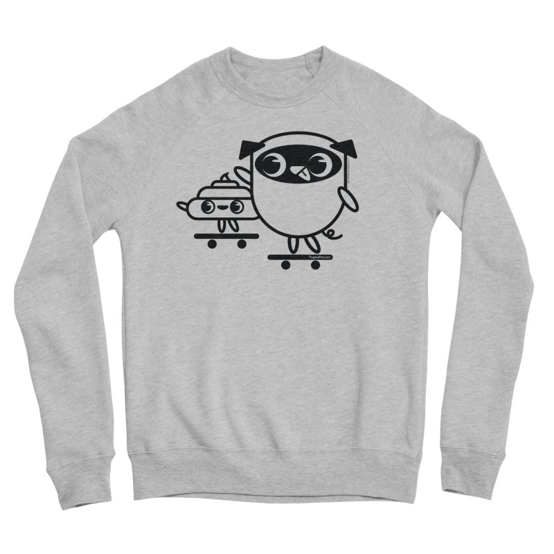 Pug and Poo Skate Women's Sweatshirt by Pug and Poo's Store