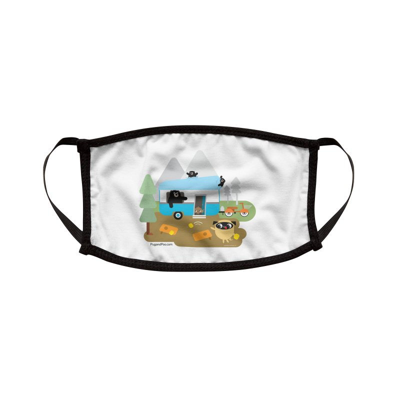 Pug and Poo RV Accessories Face Mask by Pug and Poo's Store