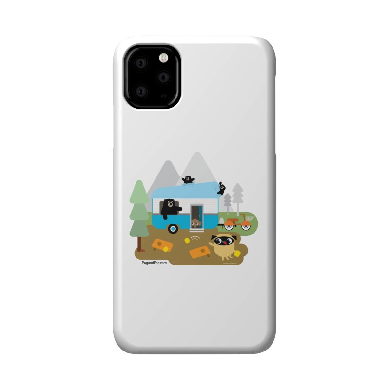 Pug and Poo RV Accessories Phone Case by Pug and Poo's Store