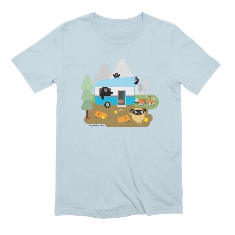 Pug and Poo RV Men's Extra Soft T-Shirt by Pug and Poo's Store