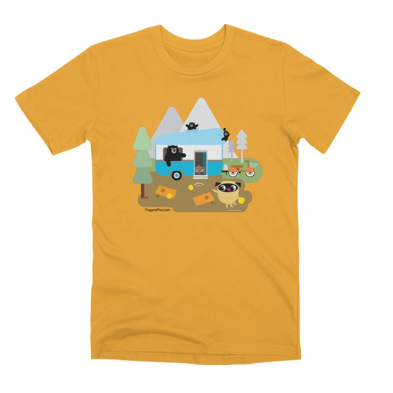 Pug and Poo RV Men's Premium T-Shirt by Pug and Poo's Store