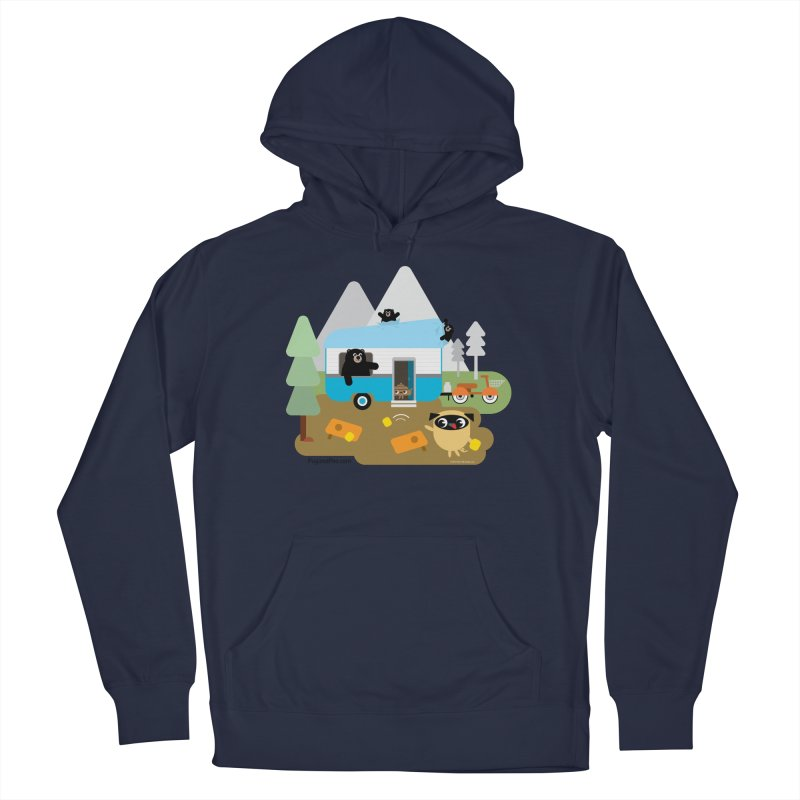 Pug and Poo RV Men's Pullover Hoody by Pug and Poo's Store