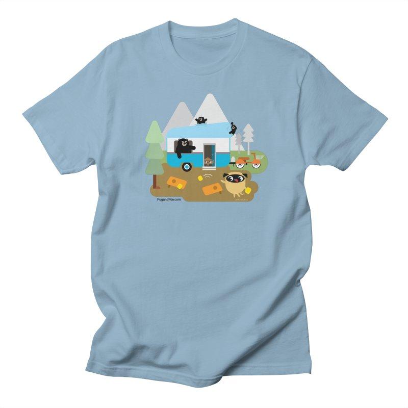 Pug and Poo RV Men's T-Shirt by Pug and Poo's Store