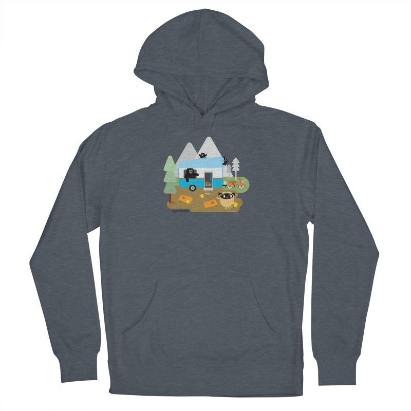 Pug and Poo RV Men's French Terry Pullover Hoody by Pug and Poo's Store