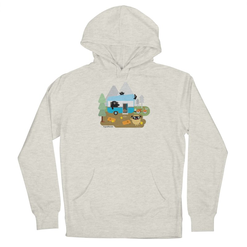 Pug and Poo RV Women's French Terry Pullover Hoody by Pug and Poo's Store