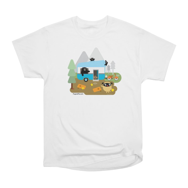 Pug and Poo RV Women's Heavyweight Unisex T-Shirt by Pug and Poo's Store
