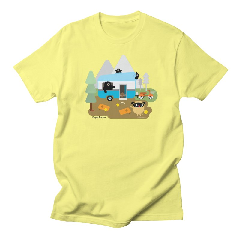 Pug and Poo RV Men's T-Shirt by Pug and Poo's Store