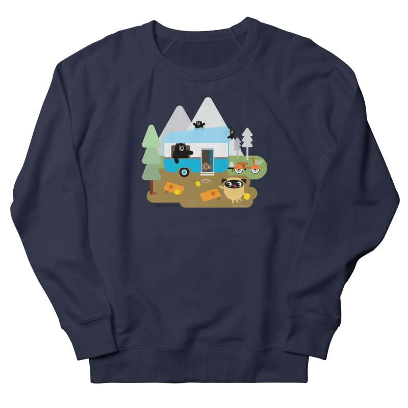 Pug and Poo RV Men's Sweatshirt by Pug and Poo's Store