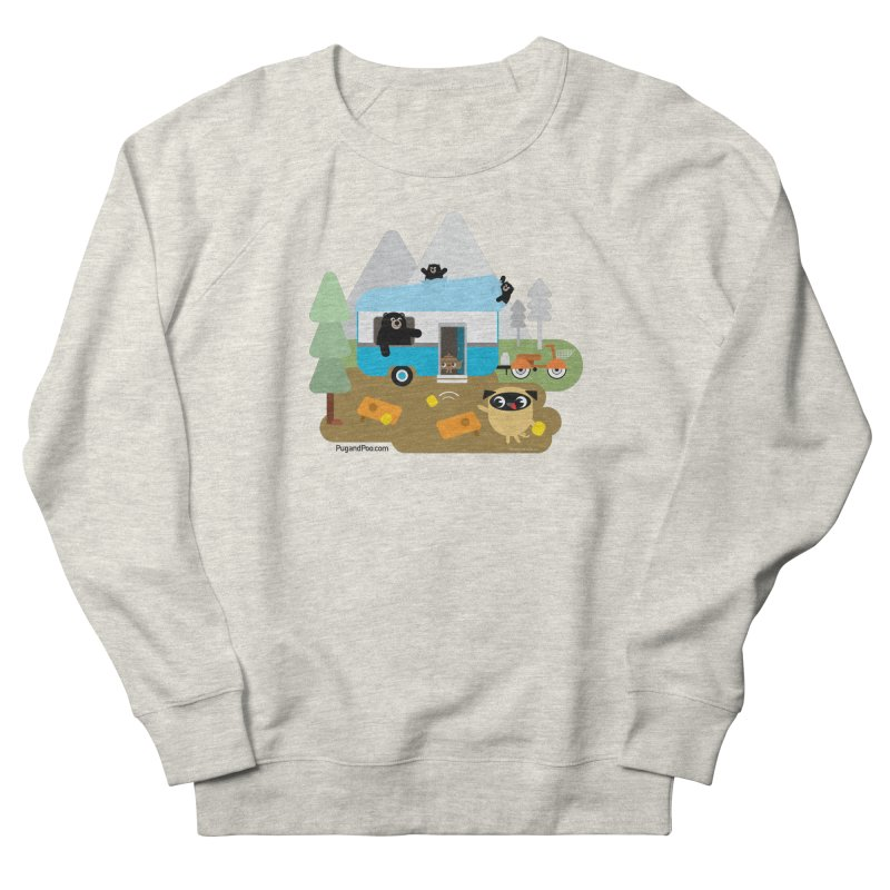 Pug and Poo RV Men's French Terry Sweatshirt by Pug and Poo's Store
