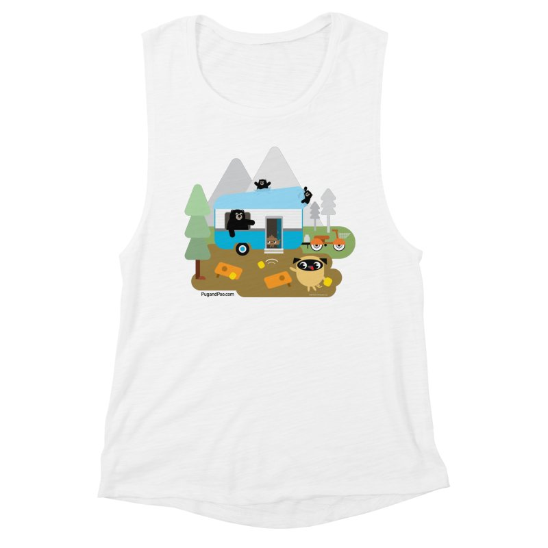 Pug and Poo RV Women's Muscle Tank by Pug and Poo's Store