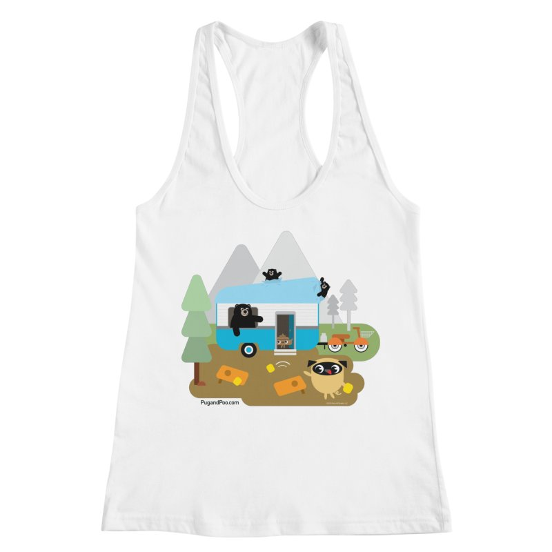 Pug and Poo RV Women's Racerback Tank by Pug and Poo's Store