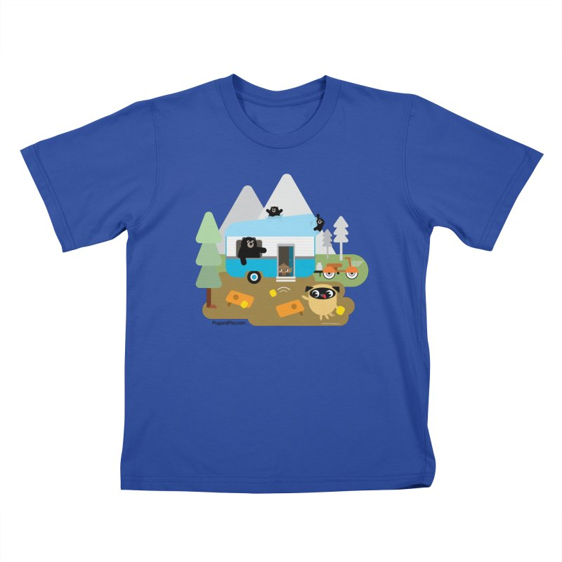 Pug and Poo RV Kids T-Shirt by Pug and Poo's Store