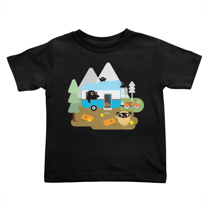 Pug and Poo RV Kids Toddler T-Shirt by Pug and Poo's Store