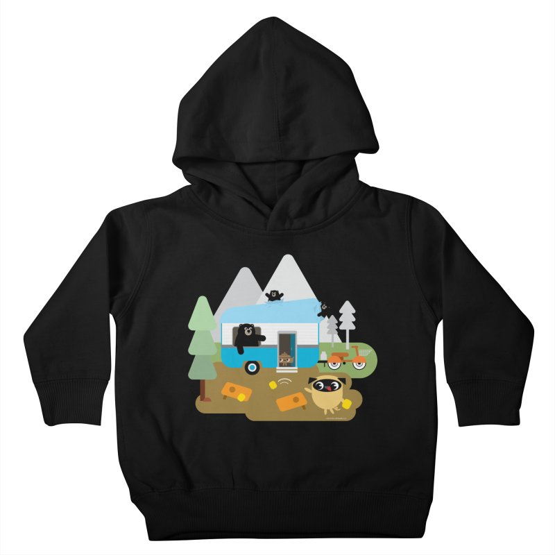 Pug and Poo RV Kids Toddler Pullover Hoody by Pug and Poo's Store