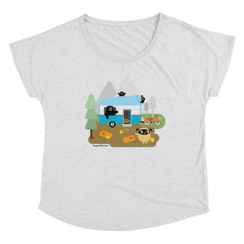 Pug and Poo RV Women's Dolman Scoop Neck by Pug and Poo's Store