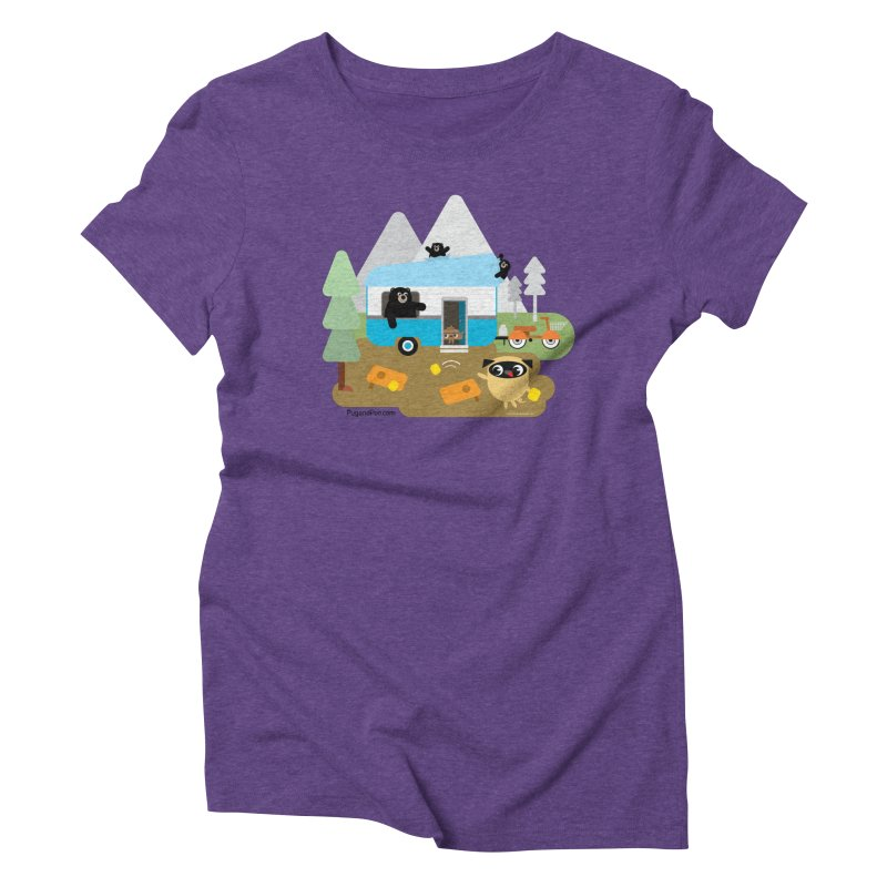 Pug and Poo RV Women's Triblend T-Shirt by Pug and Poo's Store