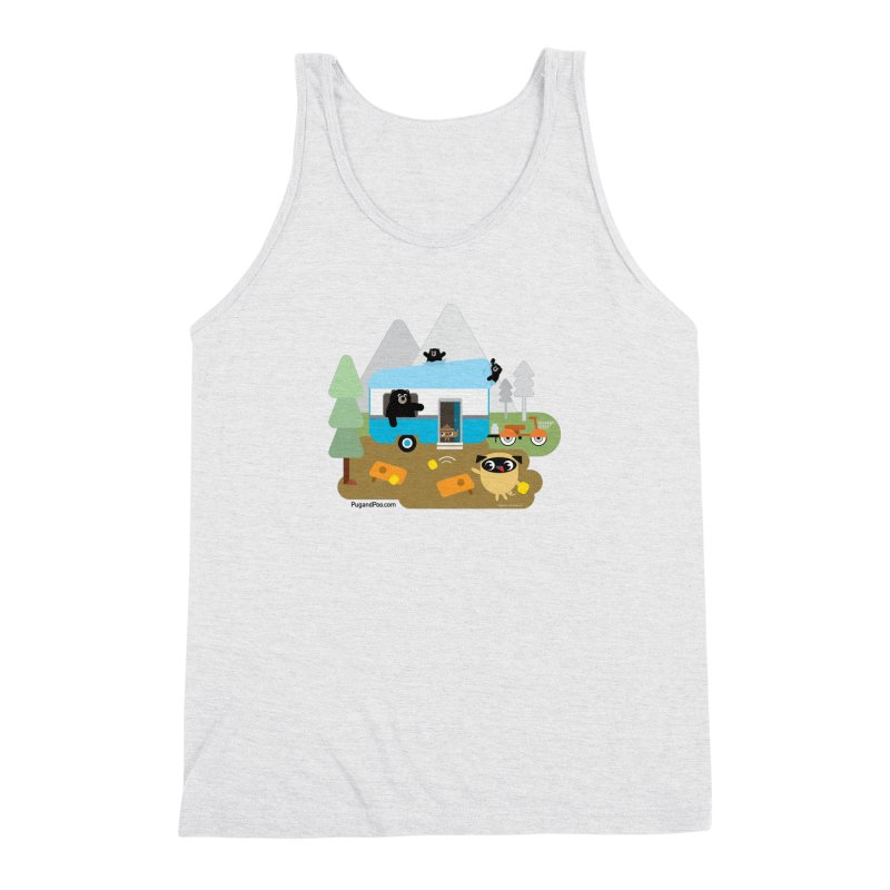 Pug and Poo RV Men's Triblend Tank by Pug and Poo's Store