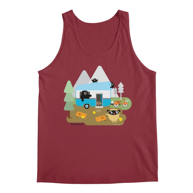 Pug and Poo RV Men's Tank by Pug and Poo's Store