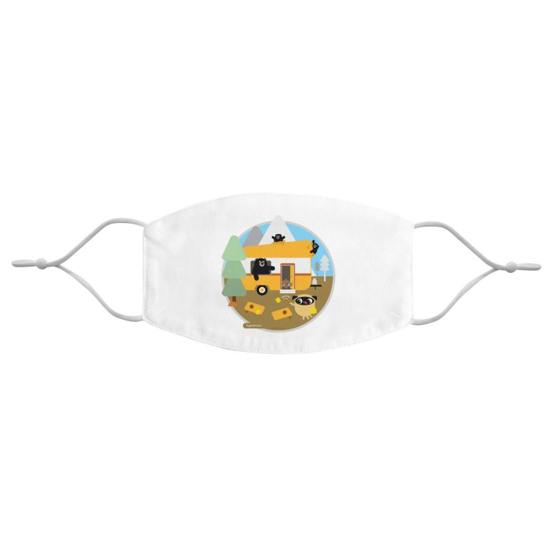 Pug and Poo RV / Circle Accessories Face Mask by Pug and Poo's Store