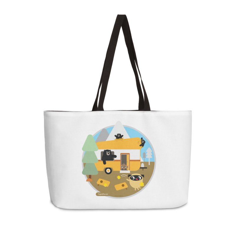Pug and Poo RV / Circle Accessories Weekender Bag Bag by Pug and Poo's Store