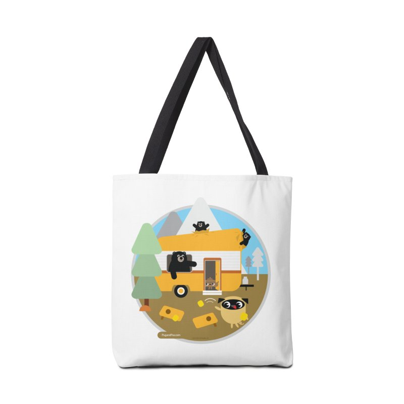 Pug and Poo RV / Circle Accessories Tote Bag Bag by Pug and Poo's Store