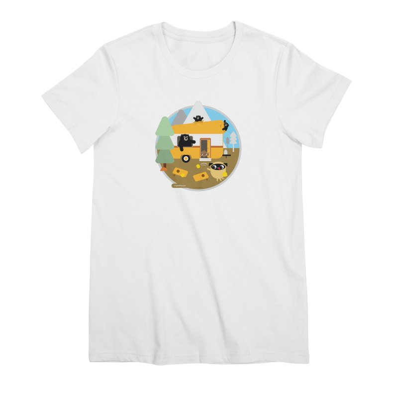 Pug and Poo RV / Circle Women's Premium T-Shirt by Pug and Poo's Store