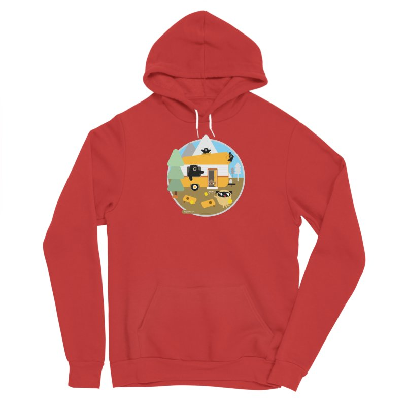 Pug and Poo RV / Circle Women's Pullover Hoody by Pug and Poo's Store