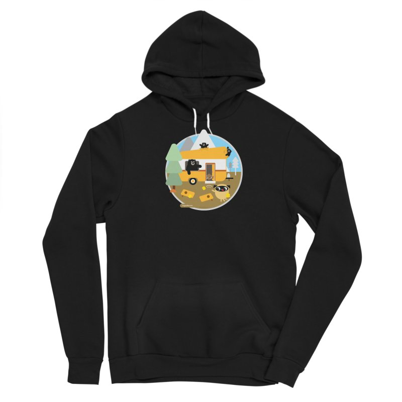 Pug and Poo RV / Circle Men's Sponge Fleece Pullover Hoody by Pug and Poo's Store