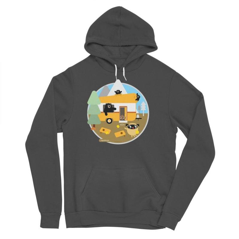 Pug and Poo RV / Circle Women's Sponge Fleece Pullover Hoody by Pug and Poo's Store