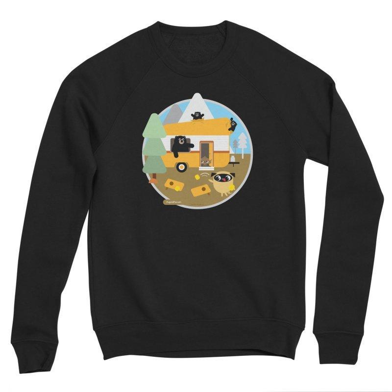 Pug and Poo RV / Circle Women's Sponge Fleece Sweatshirt by Pug and Poo's Store