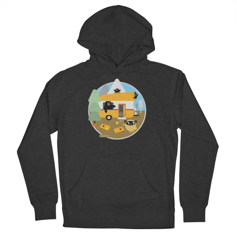 Pug and Poo RV / Circle Women's French Terry Pullover Hoody by Pug and Poo's Store