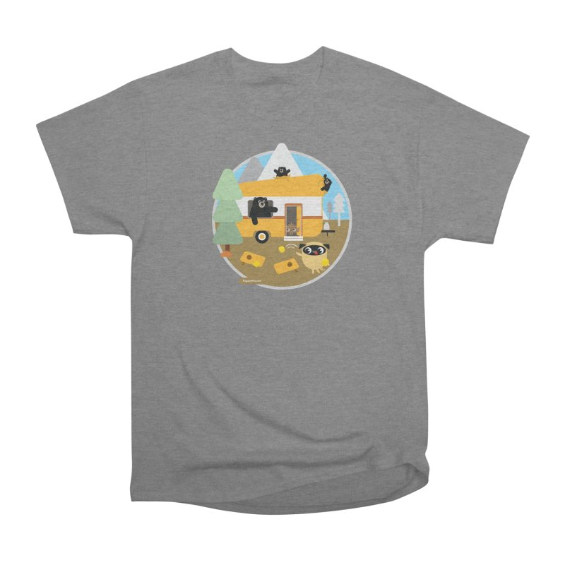 Pug and Poo RV / Circle Men's Heavyweight T-Shirt by Pug and Poo's Store