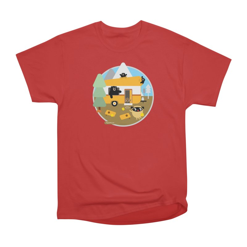 Pug and Poo RV / Circle Women's Heavyweight Unisex T-Shirt by Pug and Poo's Store