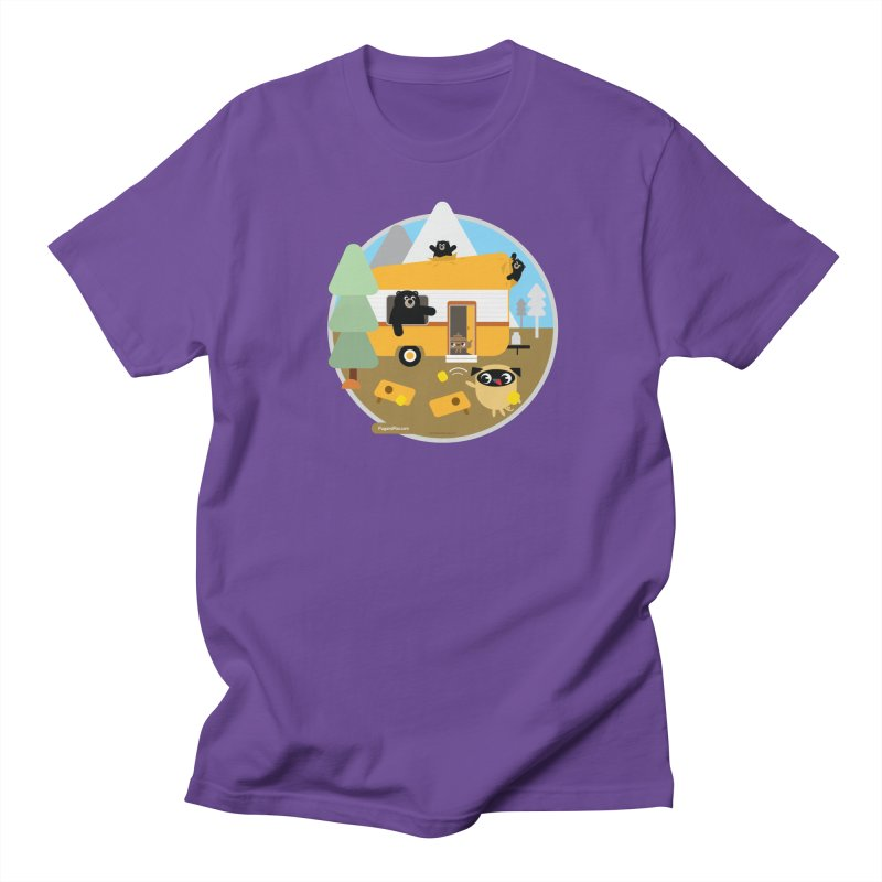 Pug and Poo RV / Circle Women's Regular Unisex T-Shirt by Pug and Poo's Store