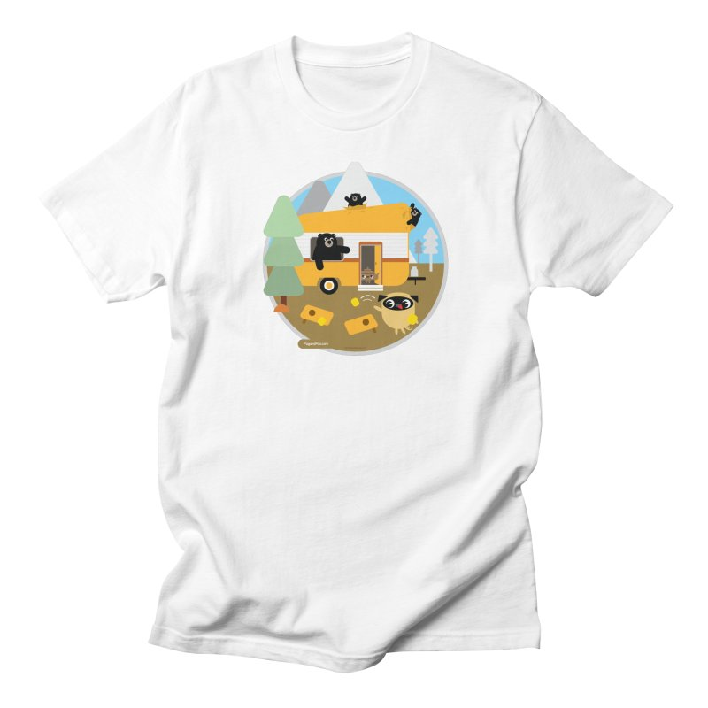 Pug and Poo RV / Circle Men's T-Shirt by Pug and Poo's Store