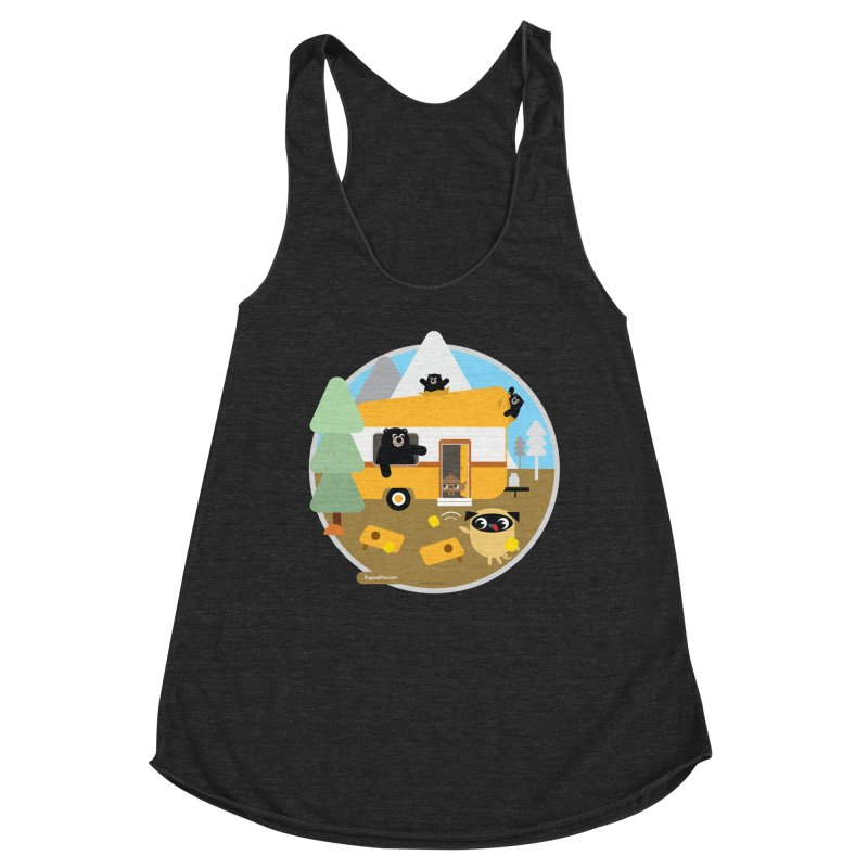 Pug and Poo RV / Circle Women's Tank by Pug and Poo's Store