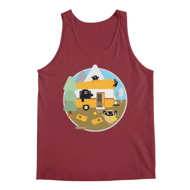 Pug and Poo RV / Circle Men's Tank by Pug and Poo's Store