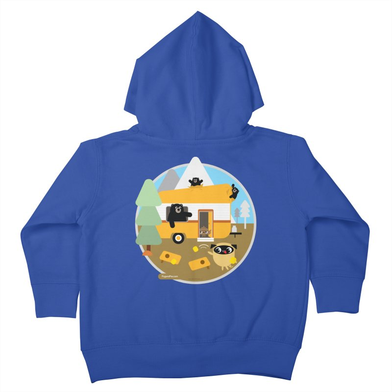 Pug and Poo RV / Circle Kids Toddler Zip-Up Hoody by Pug and Poo's Store
