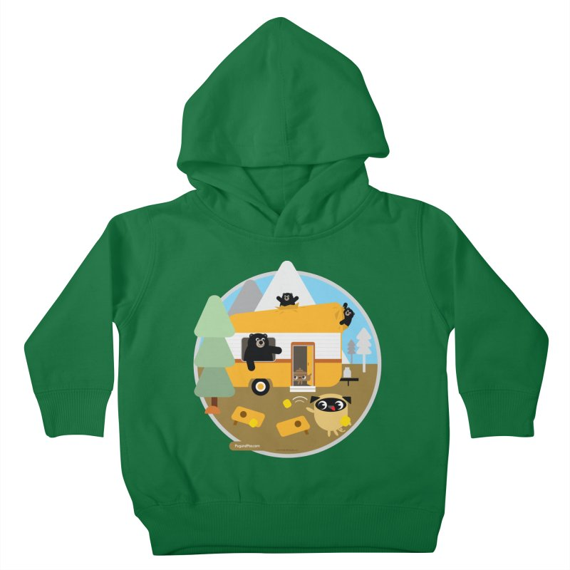 Pug and Poo RV / Circle Kids Toddler Pullover Hoody by Pug and Poo's Store