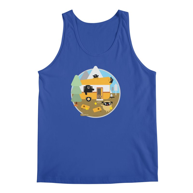 Pug and Poo RV / Circle Men's Regular Tank by Pug and Poo's Store