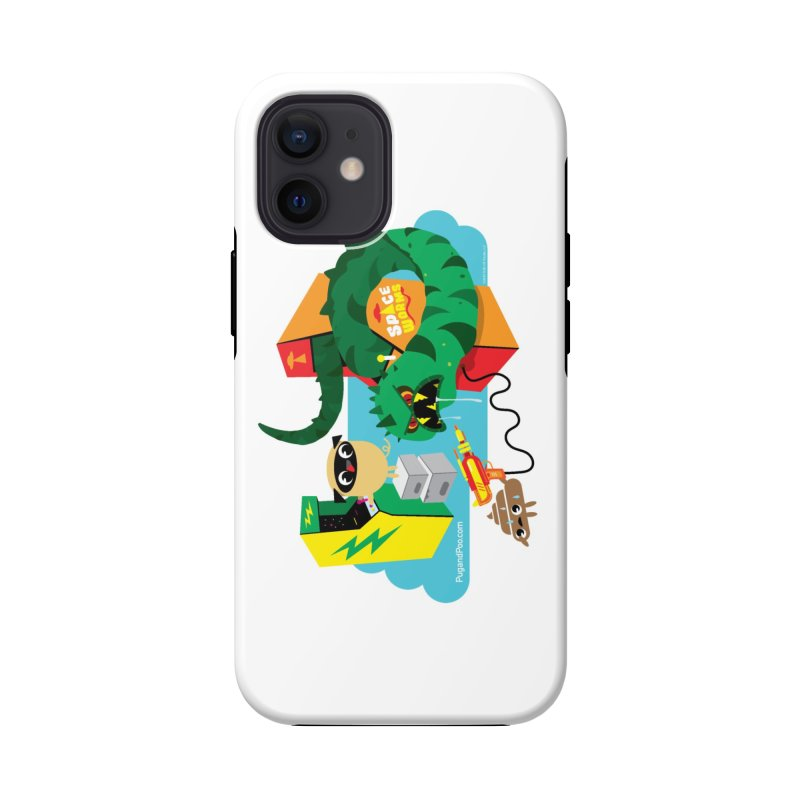 Pug and Poo Arcade Accessories Phone Case by Pug and Poo's Store