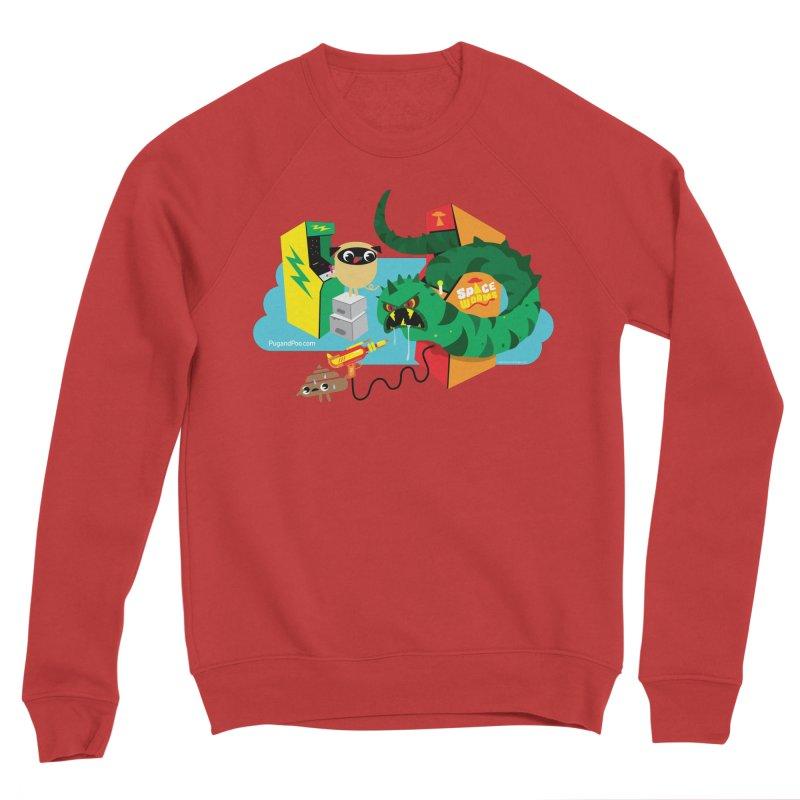Pug and Poo Arcade Women's Sponge Fleece Sweatshirt by Pug and Poo's Store