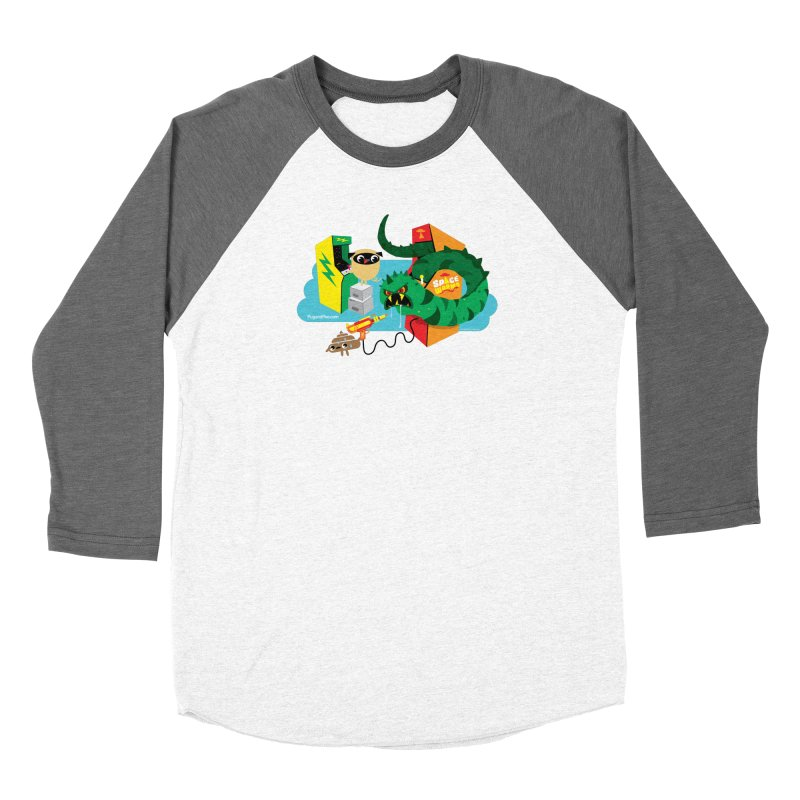 Pug and Poo Arcade Women's Longsleeve T-Shirt by Pug and Poo's Store