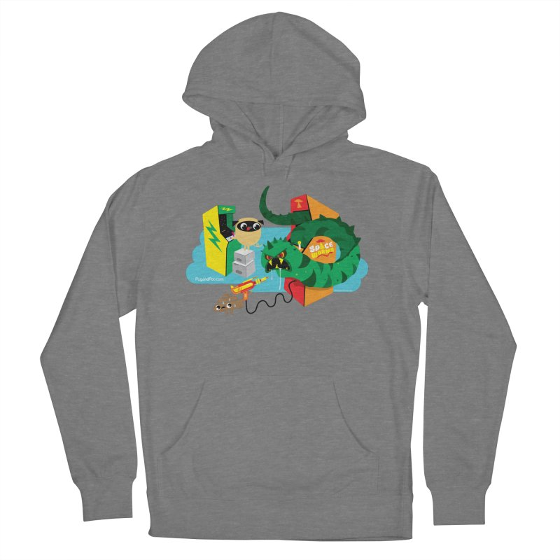 Pug and Poo Arcade Women's Pullover Hoody by Pug and Poo's Store